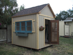 Massage Studio Shed