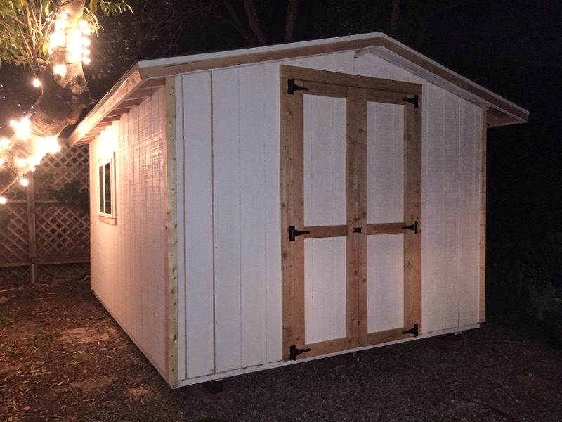 10x12' Office Shed in Montecito