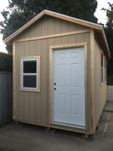 8x15' Living Space Shed in Goleta
