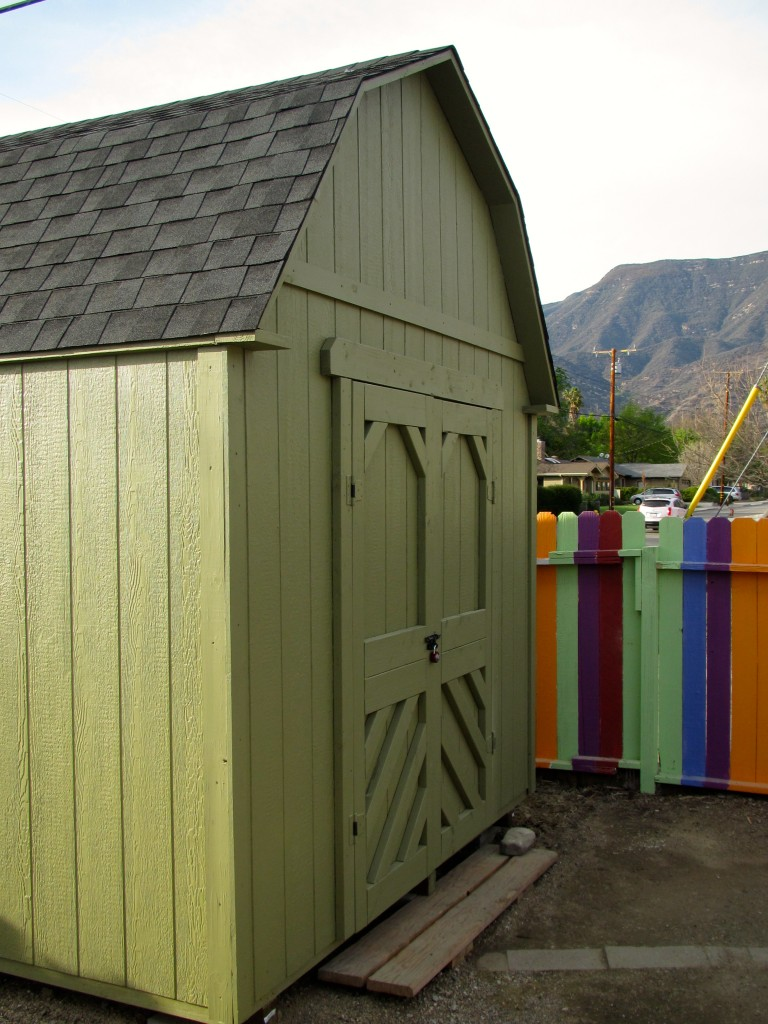 10x12' Shop Shed in Ojai