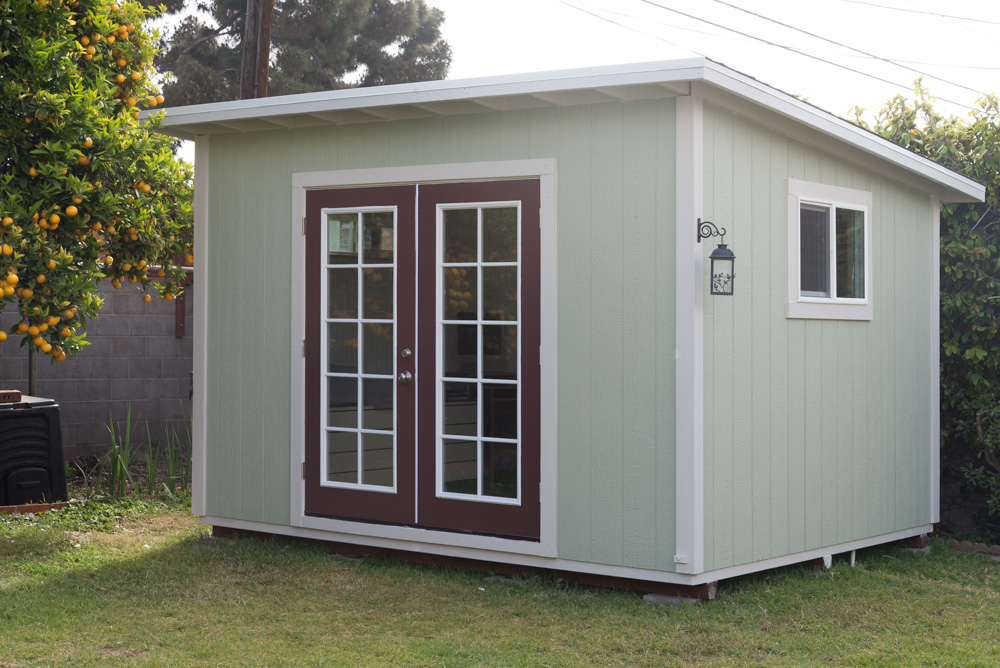 10x12' Lean-to Shed in Ventura