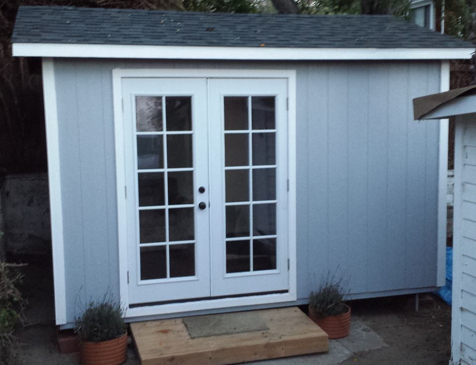 10x12' Office Shed in Santa Barbara