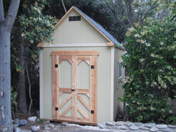 Custom Size Storage Shed