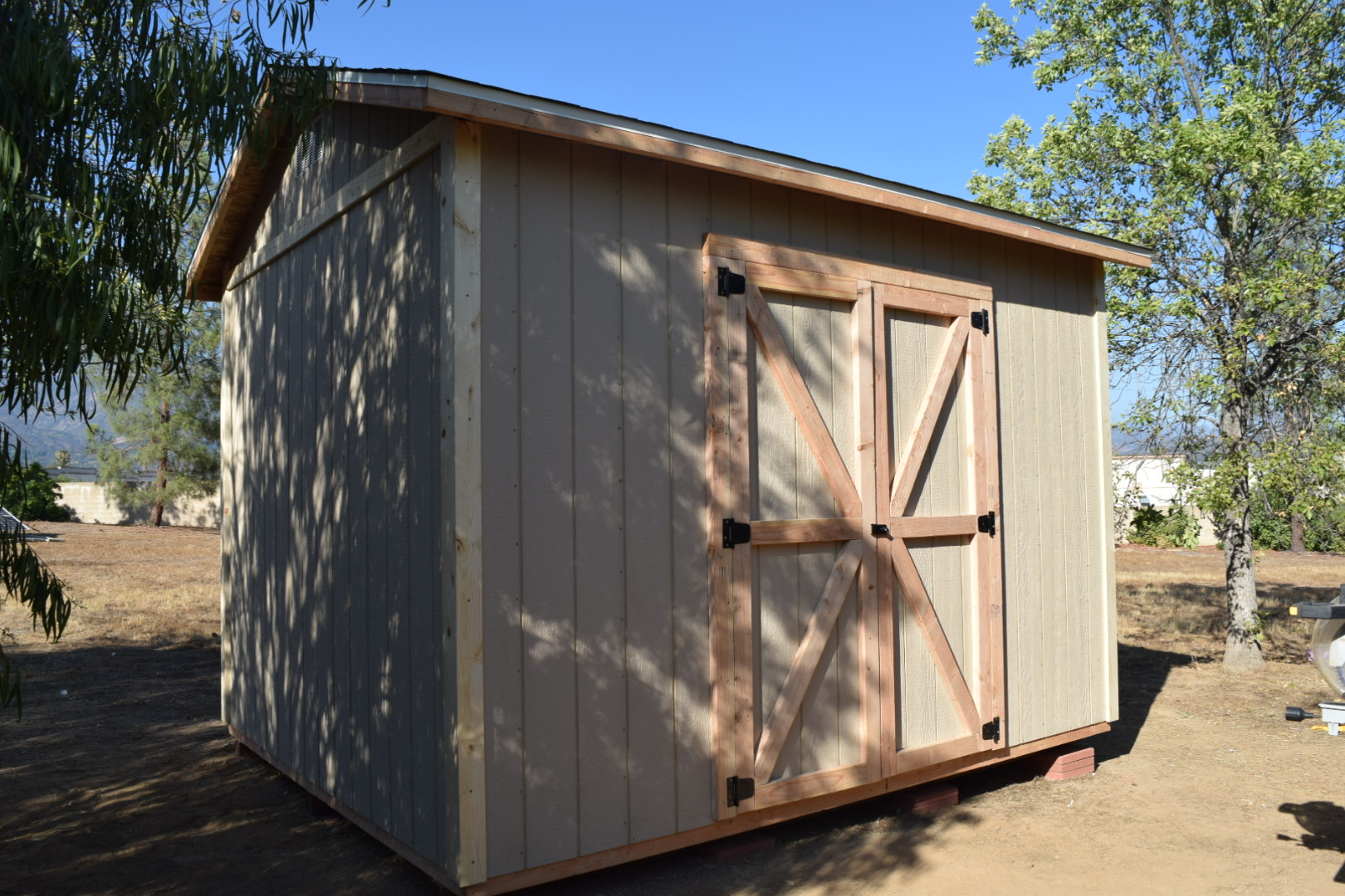 10x12' Storage Shed in Ojai