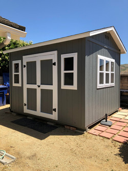 Basic Storage Shed with Windows