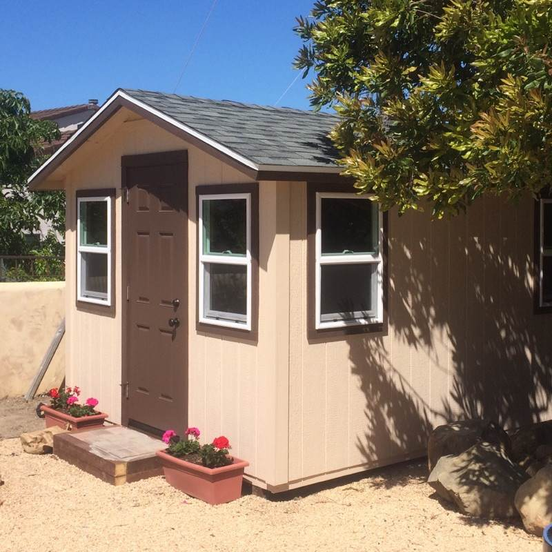 10x12' Guest Shed in Goleta