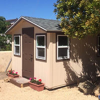 Guest Room Shed