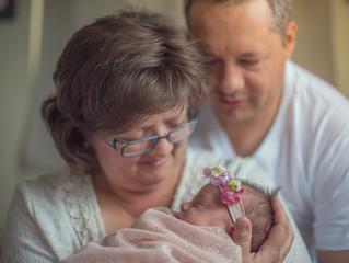 Newborn session - Baby Carmen