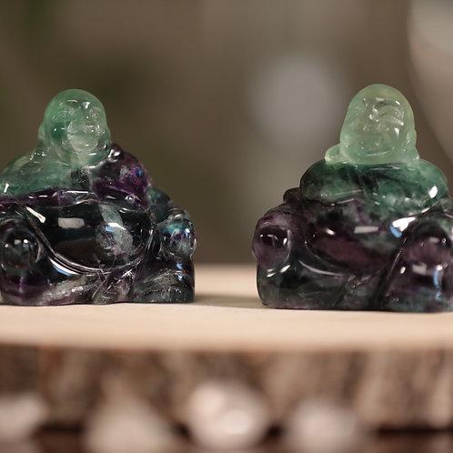 Fluorite Buddha