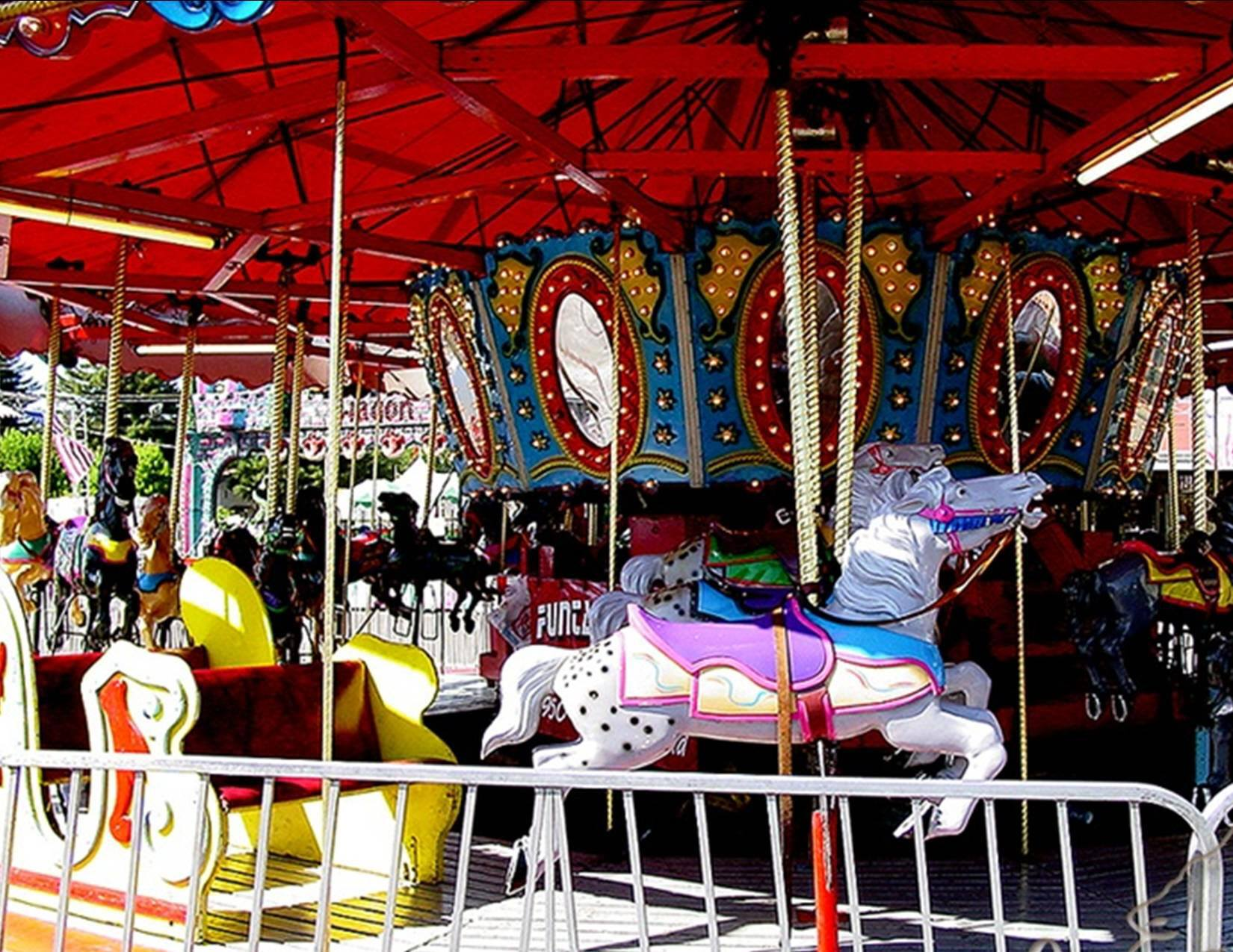 Rides at Fairgrounds in Shasta County