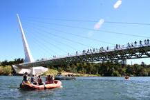 Floating under Sundial bridge.jpg