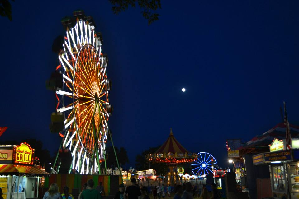Carnival at Fair in Shasta County