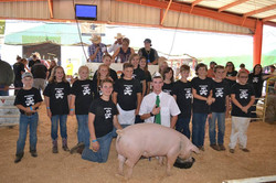 Friends of the Fair 4-H Hog Cottonwood 4-H