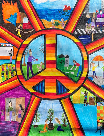 Lions District 4-C1 Peace Poster Winner 2021