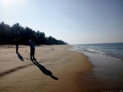 Walk the beach talk
