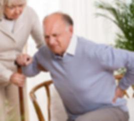 Patient suffering from Osteoarthritis.