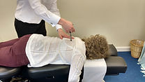 Activator Technique demonstrated at Cruise Chiropractic in Wickham Market.