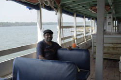Venturing in the ferry