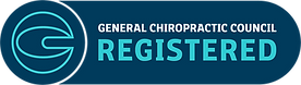 Cruise Chiropractic is registered with the General Chiropractic Council.