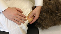 Trigger Point Therapy demonstrated at Cruise Chiropractic in Wickham Market.