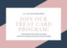Treat Card Program