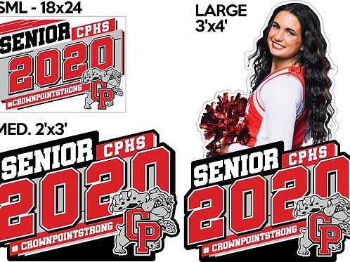Large - Your School 3'x4' Sign-Little Giant
