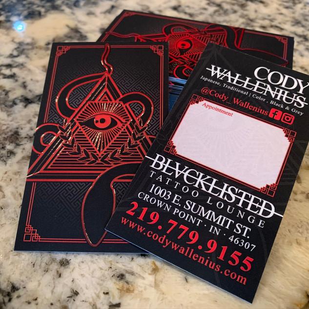 Blacklisted Tattoo - Cody Wallenius