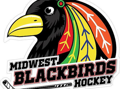 Midwest Blackbirds Generic Car Decal
