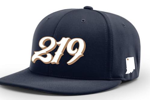 Navy 219 Cap w/ Player #