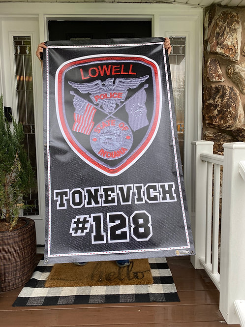 Police Banner 3'x5'