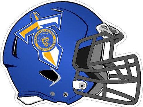 Highland Titans Generic Helmet Car Decal