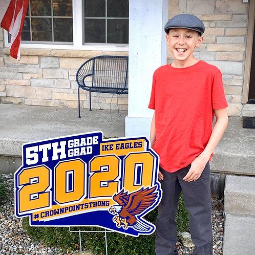 Medium - Your School 2'x3' Yard Sign 2021