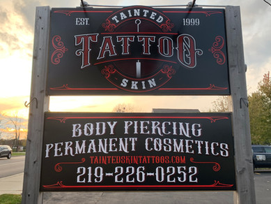 Tainted Skin Tattoo