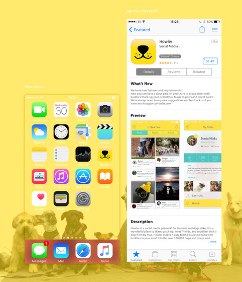 App Store Look