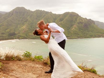Ka'a'awa Mountainside Bridals