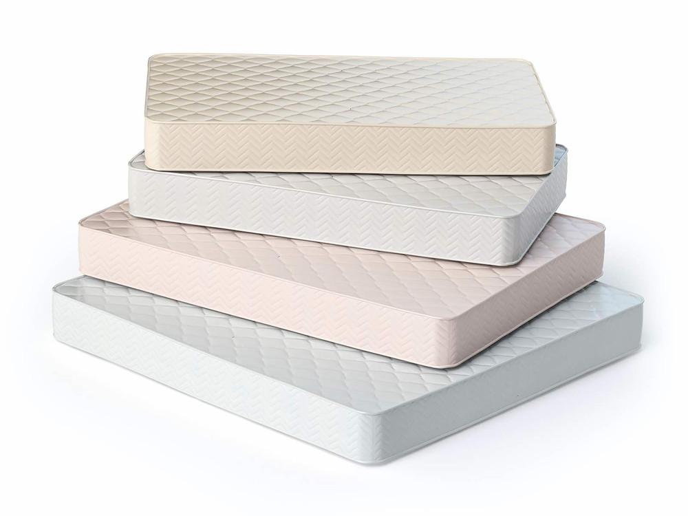 Diferentes colchões de espuma de poliuretano flexível