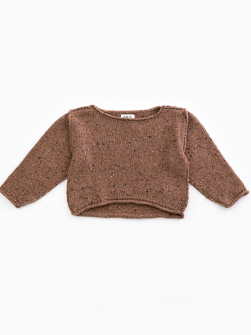Play Up gestrickter Pullover - Woodwork