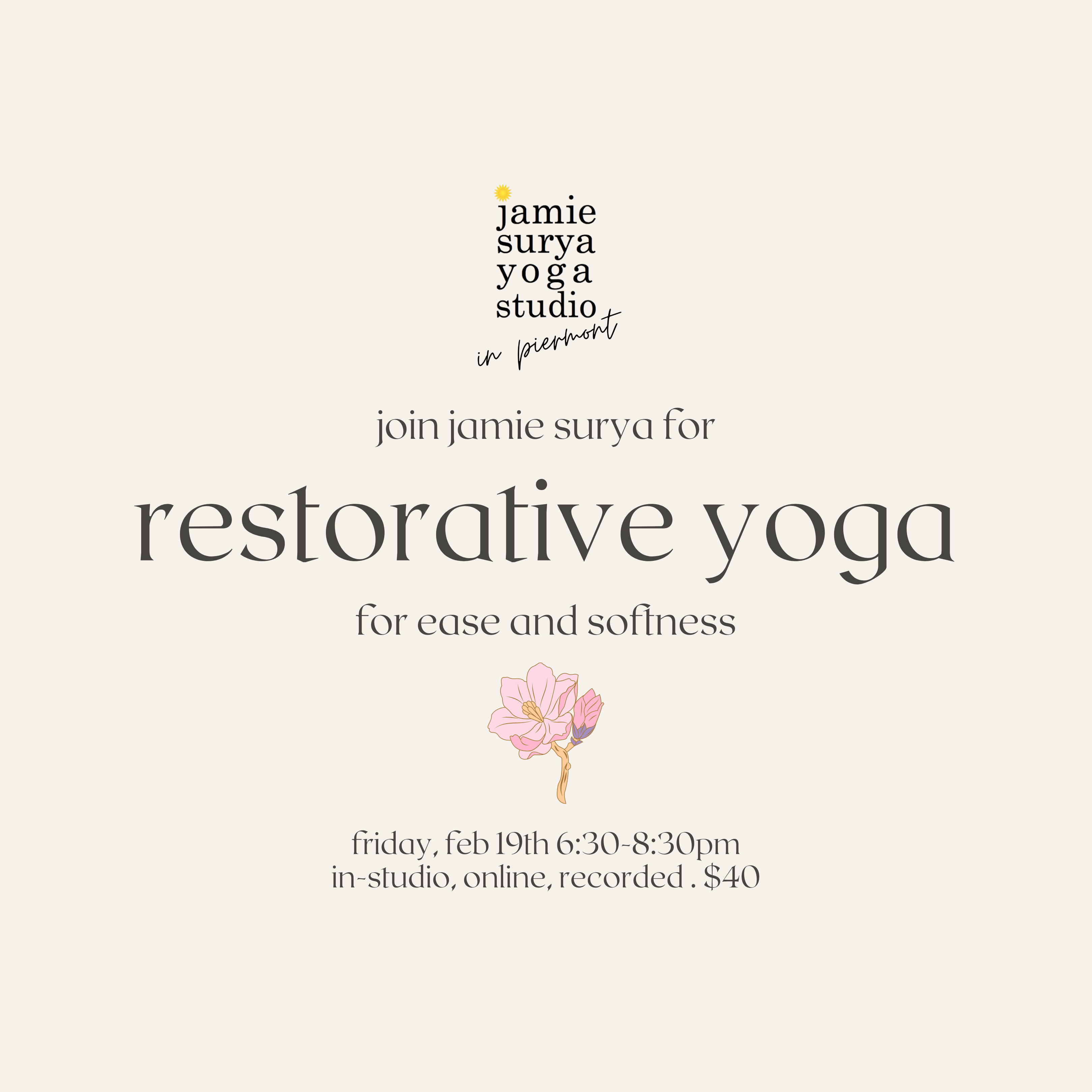 restorative yoga for worriers
