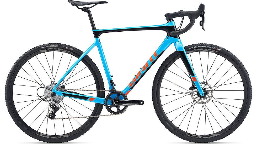 Giant TCX Advanced Pro 2 Olympicblue / Solidblack / Orange 2020