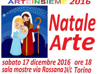 Christmas Art Exhibition in Turin