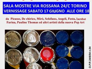 Pauline Thomas to Exhibit at Pop Art Exhibition Turin