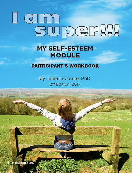 DIGITAL VERSION - I am super, my self-esteem module : Participant's Workbook and