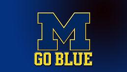 Michigan college football logo