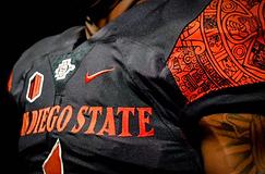 SDSU college football logo