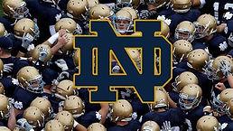 Notre Dame college football logo