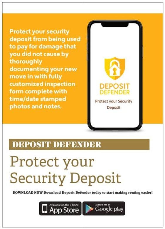 Deposit Defendar