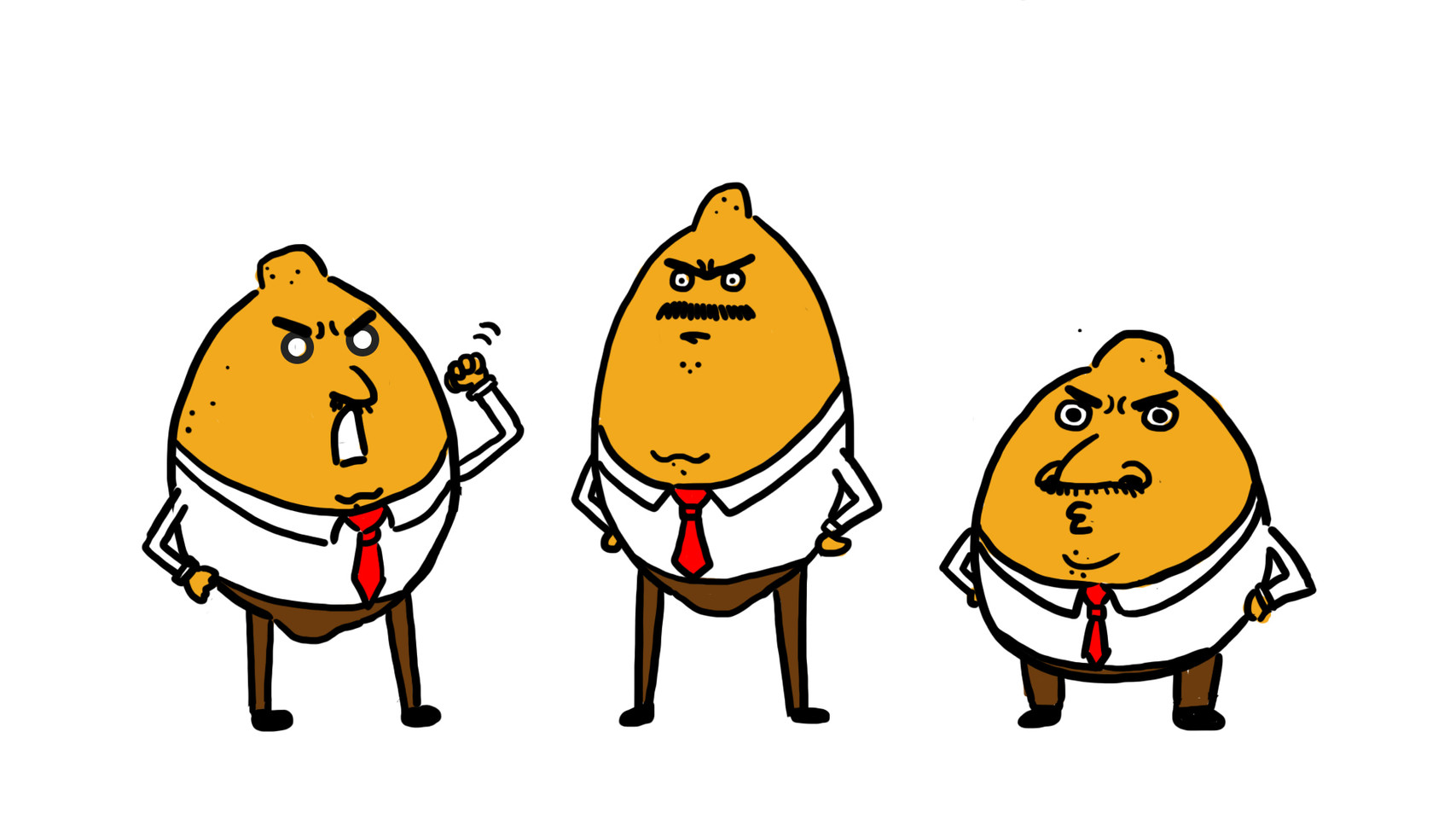 Sour Lemon Boss for 'The Married Life of Corn Cob and Sweet Potato' Short
