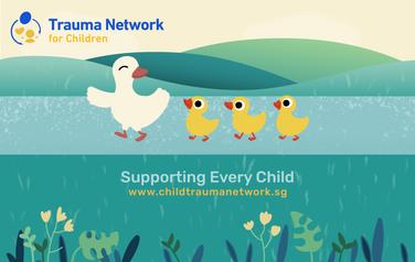 Thumbdrive merchandise design for Trauma Network for Children