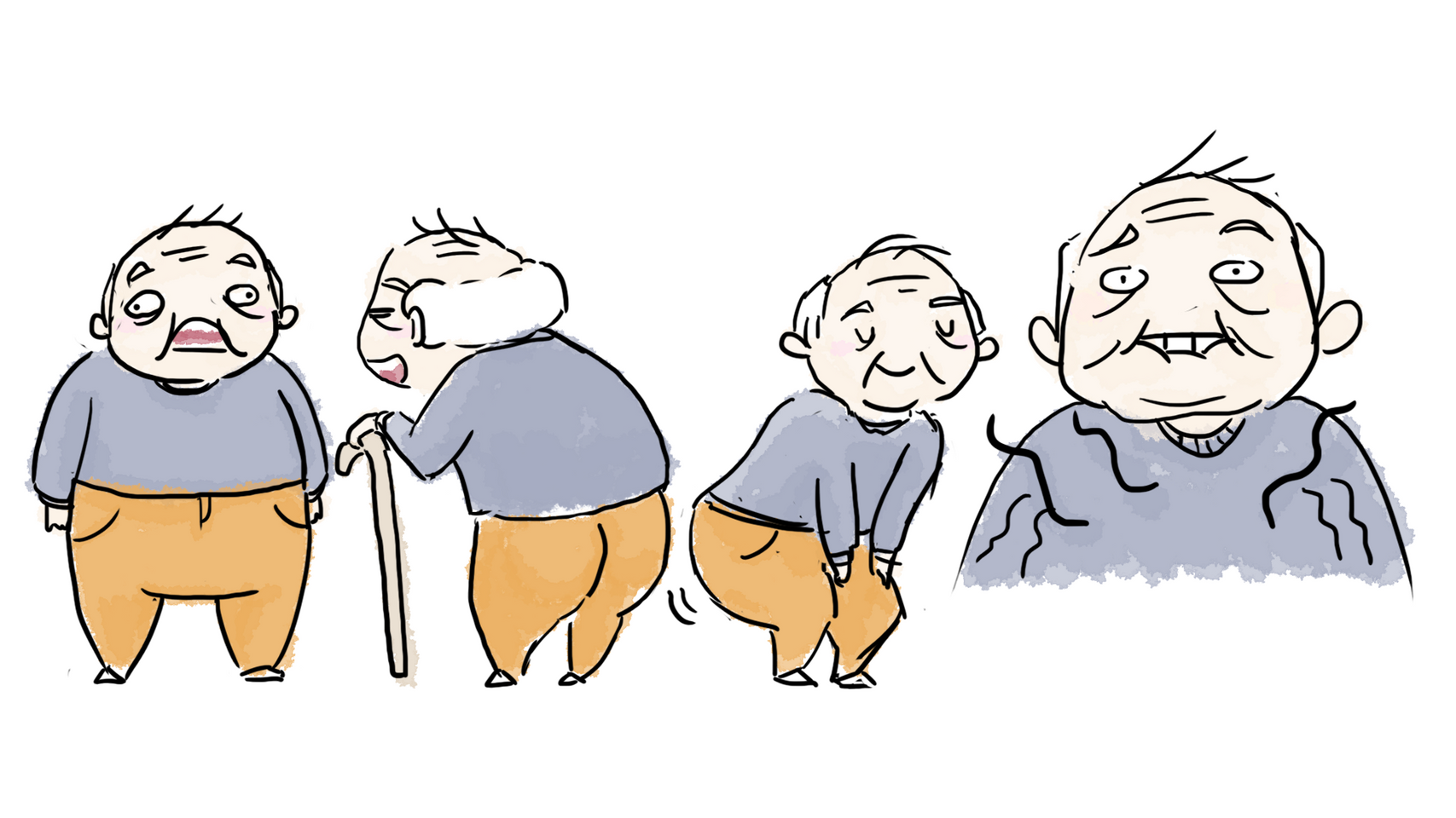 Grandpa for 'Tip of the Tongue' Short