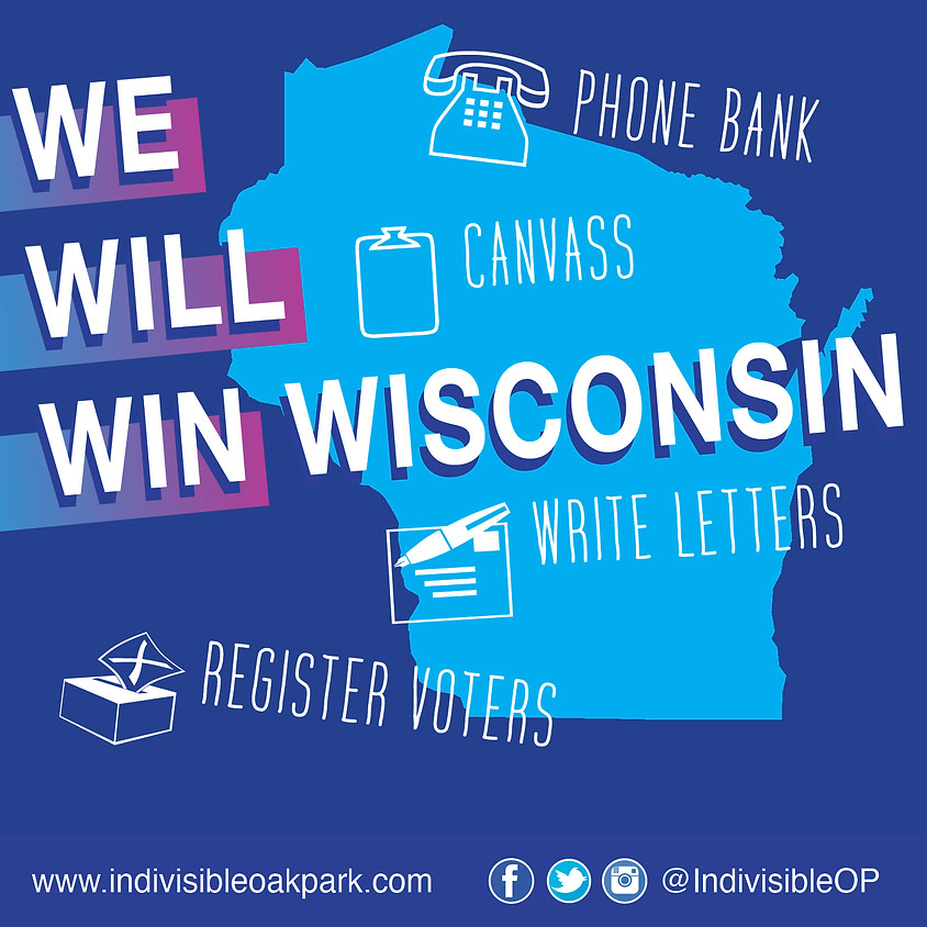 Join us to knock doors and make Wisconsin blue again